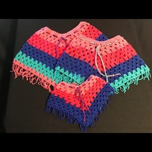 Other - Set of 3 Ponchos